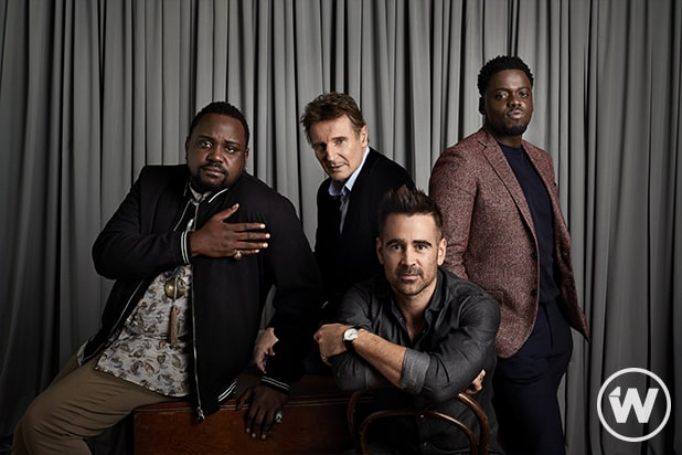 Brian Tyree Henry, Liam Neeson, Colin Farrell and Daniel Kaluuya, Widows