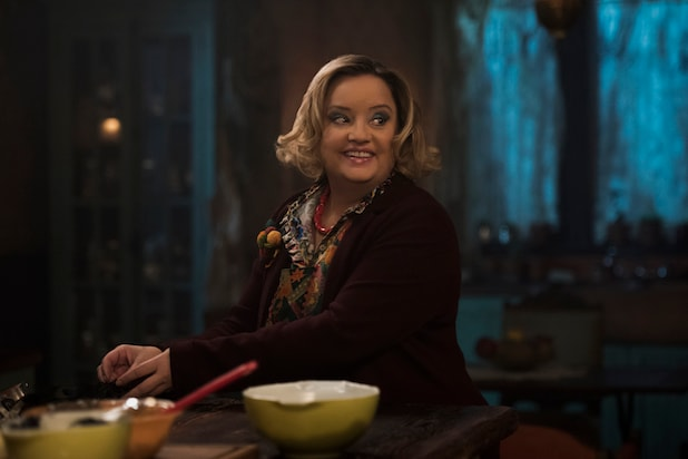 Aunt Hilda Chilling Adventures of Sabrina
