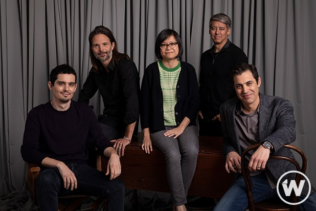 Damien Chazelle, Linus Sandgren,Ai-Ling Lee Tom Cross, and Josh Singer, First Man