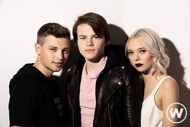 Darren Mann, Josh Wiggins, and Taylor Hickson, Giant Little Ones