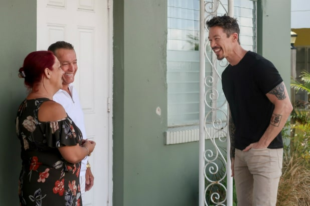 David Bromstad in HGTV's 'My Lottery Dream Home'