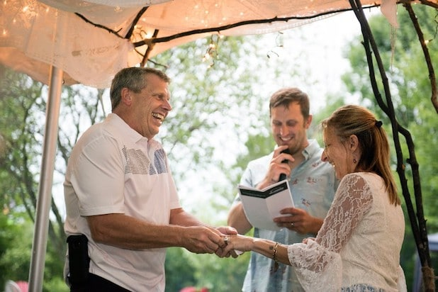 Martin Schmidt adopted biological parents matchmaker wedding