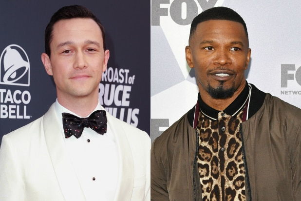 Joseph Gordon-Levitt and Jamie Foxx