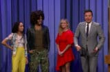 Jimmy Fallon, Zoe and Lenny Kravitz, Reese Witherspoon on 'The Tonight Show'