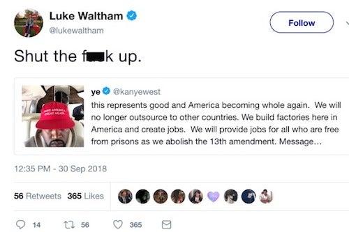 Luke Waltham Kanye