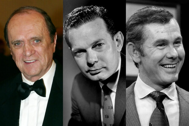Bob Newhart David Brinkley Johnny Carson