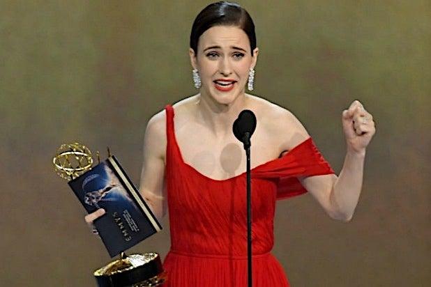 Rachel Brosnahan 70th Emmys 2018