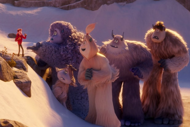 Smallfoot' Film Review: Fun Ideas Get Buried Under Avalanche ...