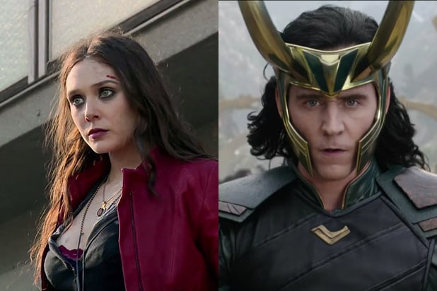Scarlet Witch and Loki