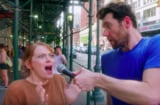 Emma stone Billy Eichner Billy on the Street