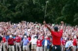 Tiger Woods wins at Tour Championship