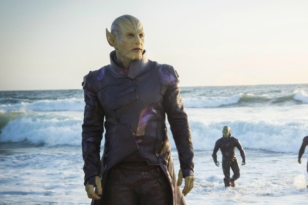 Image result for captain marvel skrull