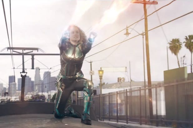 captain marvel trailer train fight
