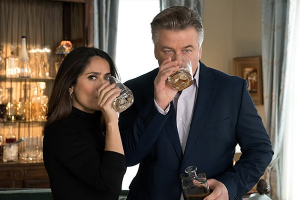 drunk parents salma hayek alec baldwin