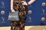 emily heller emmys red carpet getty images handbag