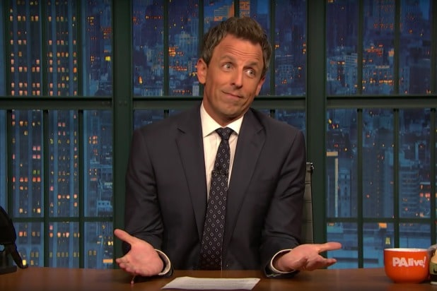 late night with seth meyers couple things brett kavanaugh virgin defense