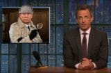 late night with seth meyers donald trump sounds like sherlock holmes after a concussion