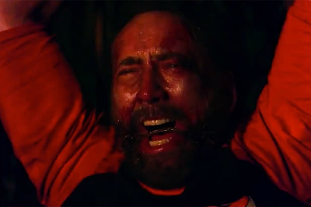 Mandy' Film Review: Nicolas Cage Takes a Big Bite Out of