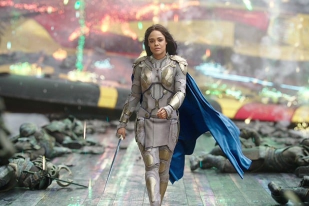 Tessa Thompson Heads to 'Avengers 4' Set in Atlanta With Chris Hemsworth