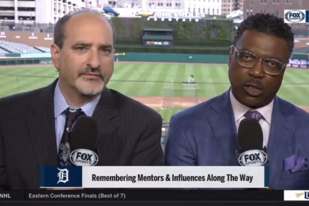 Detroit tigers announcers Fox Sports