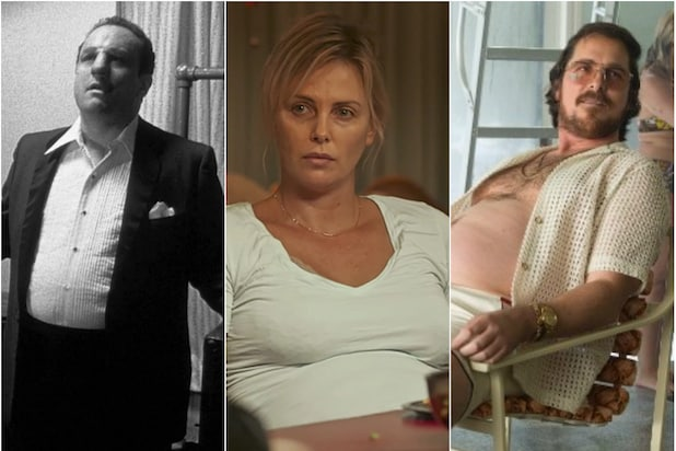 Stars Who Gained Weight for Film, From Charlize Theron to Christian Bale