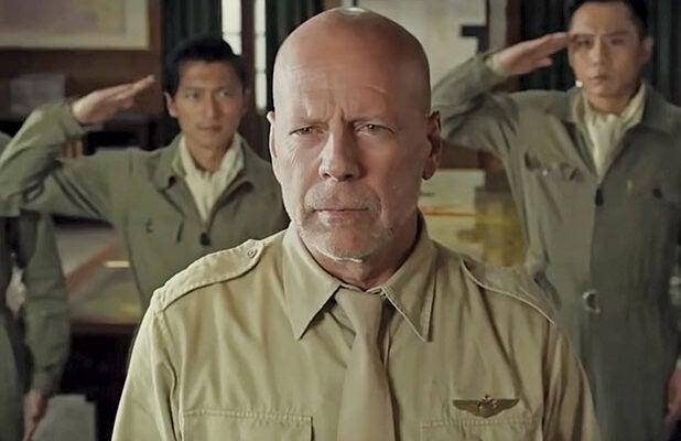 Air Strike Bruce Willis Fan BingBing