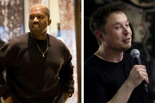 Kanye West Elon Musk