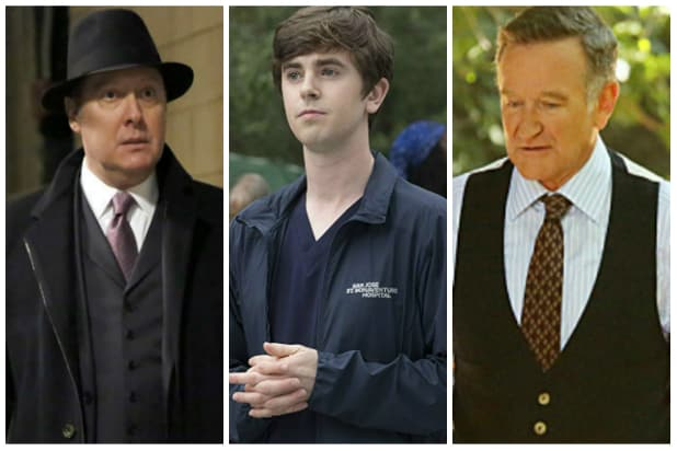 The Blacklist, The Good Doctor, The Crazy Ones