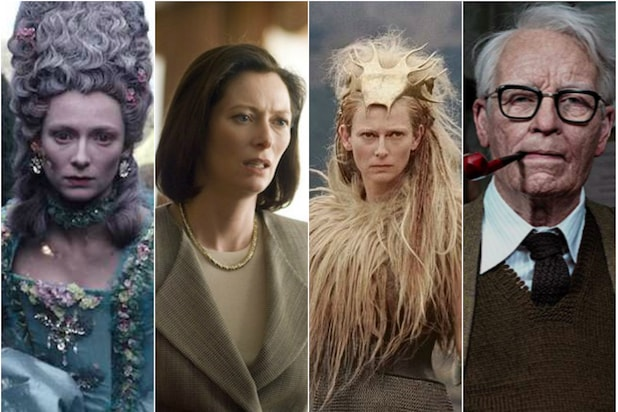 Evolution of Tilda Swinton