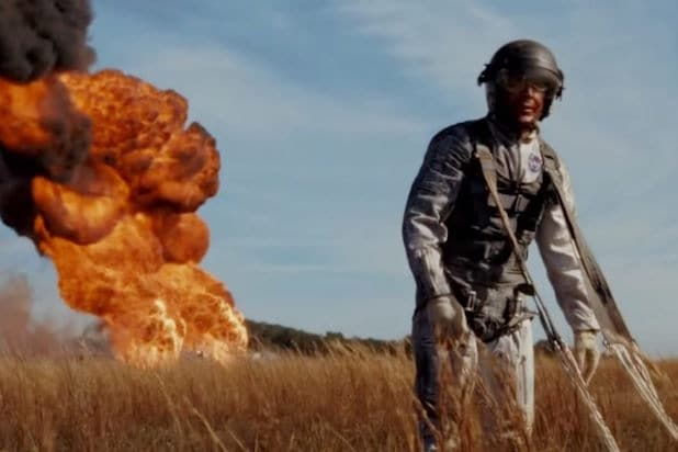 First Man explosion