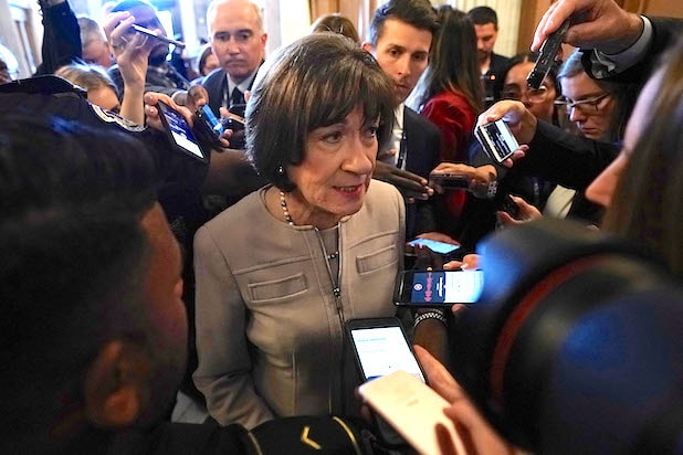 Sen. Susan Collins Kavanaugh