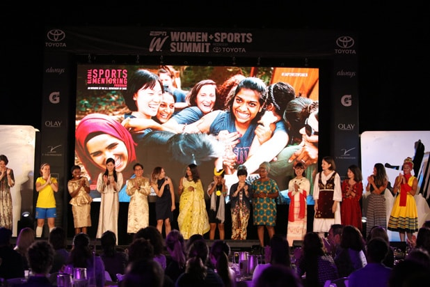 espnW Global Sports Mentoring Around the World