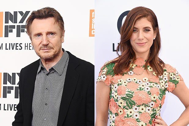 Liam Neeson Kate Walsh Honest Thief