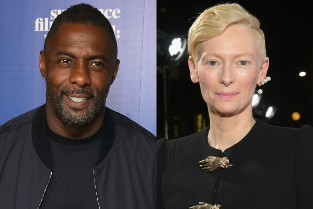 Idris Elba and Tilda Swinton