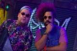 James Corden and Reggie Watts in 'Spittin Venom'