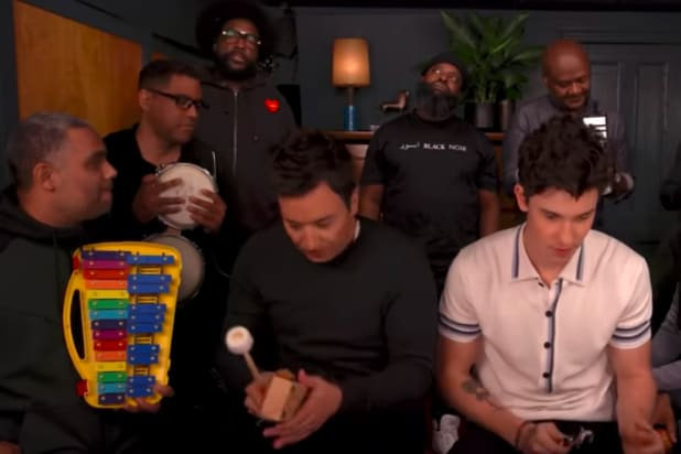 Shawn Mendes, Fallon Do 'Treat You Better' With Classroom Instruments
