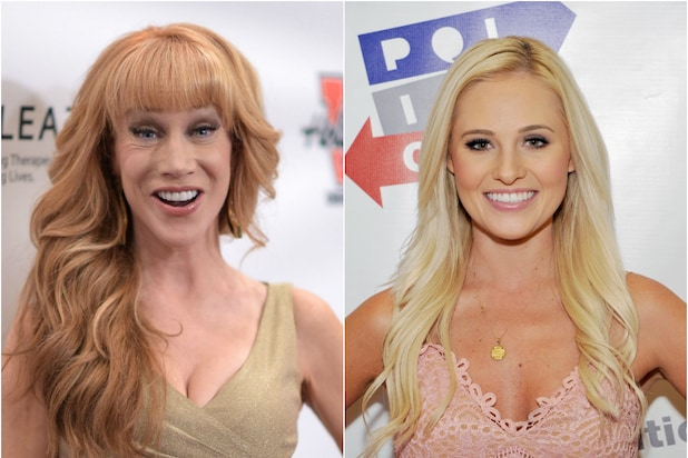 Kathy Griffin Trades Barbs With Tomi Lahren - Who Dressed as