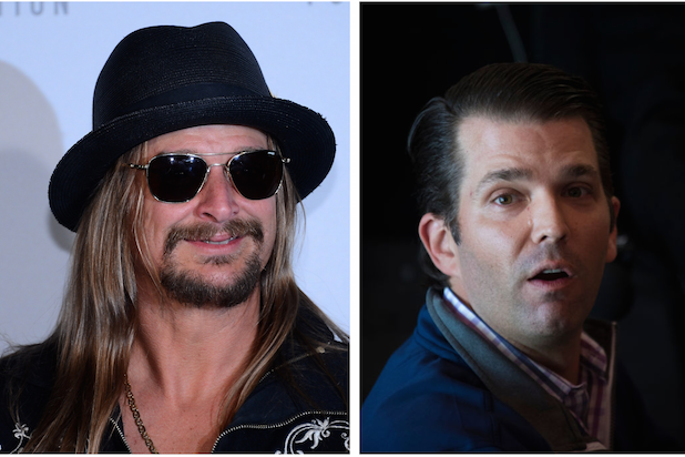 Kid Rock Donald Trump Jr.
