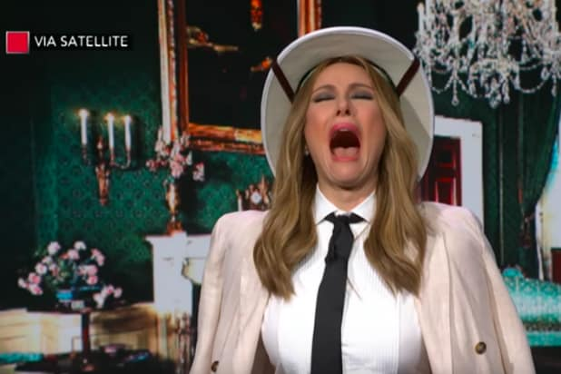 'Melania Trump' Returns to Colbert's 'Late Show' to Clear Up Some of That ABC News Interview (Video)
