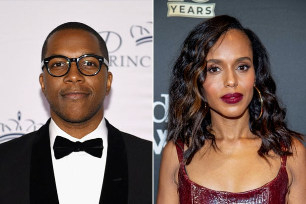 Leslie Odom Jr Kerry Washington