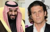 Mohammed bin Salman and Jay Penske