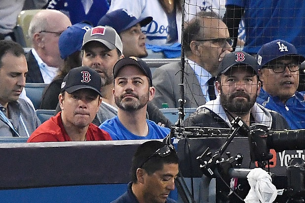 Ben Affleck, Matt Damon, Jimmy Kimmel