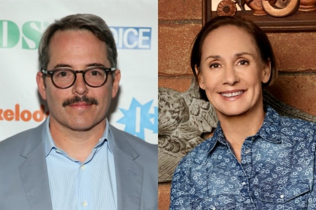 Matthew Broderick Laurie Metcalf The Conners