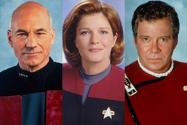 Patrick Stewart Kate Mulgrew William Shatner