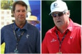 Paul Azinger and Johnny Miller