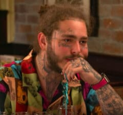Post Malone at Olive Garden