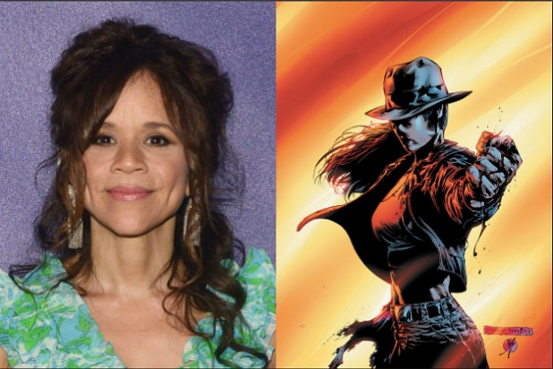 Rosie Perez Renee Montoya Birds of Prey