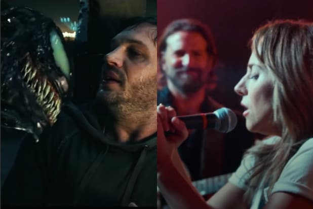 Venom' and 'A Star Is Born' Could Smash October Box Office