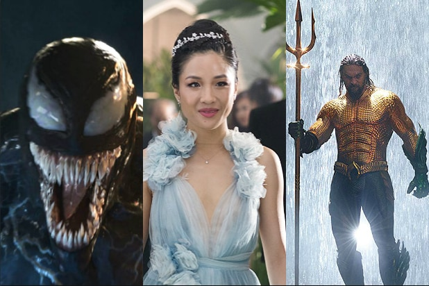 Aquaman,' 'Venom' and - Surprisingly - 'Crazy Rich Asians' Head to China