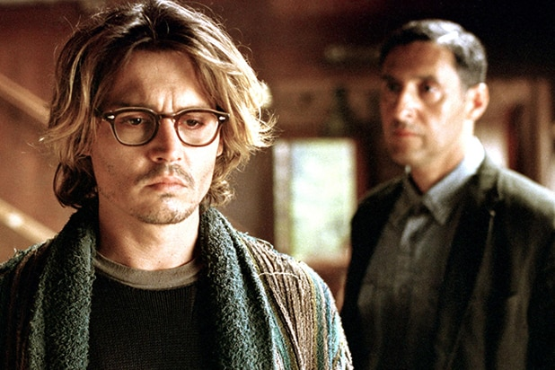 SECRET WINDOW, Johnny Depp, John Turturro, 2004, (c) Columbia/courtesy Everett Collection